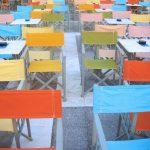 Turystyczne krzesła i stoliki
